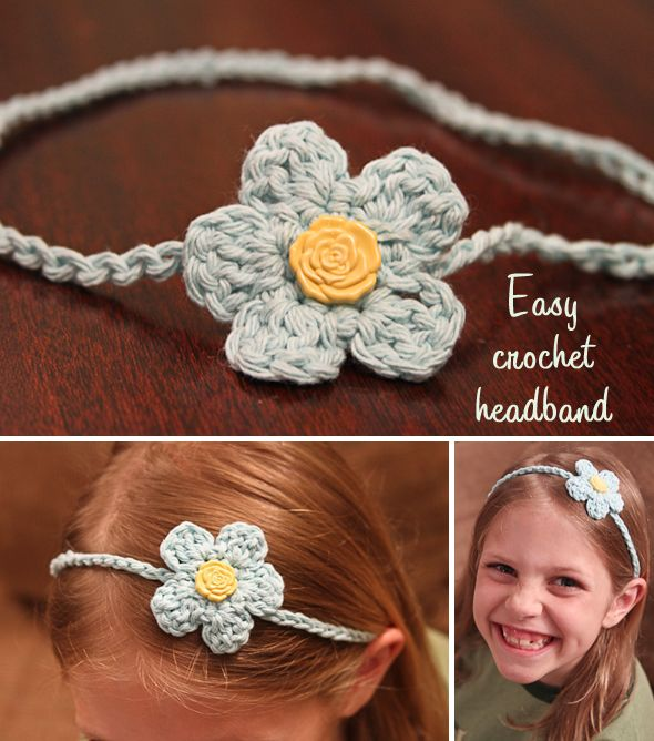 My very first crochet tutorial is featured on Skip to My Lou's Summer Craft Camp today!