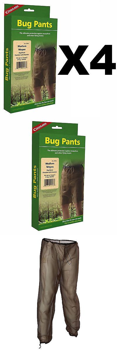 Jeans Pants and Shorts 166696: Coghlan S Bug Pants Medium Black Unisex Flame Retardant Mosquito Net (4-Pack) -> BUY IT NOW ONLY: $45.11 on eBay!