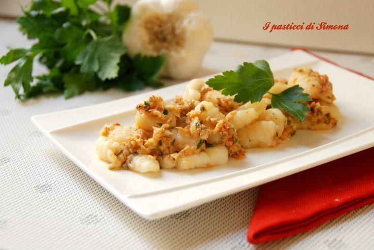Gnocchi di patate con sugo di trota