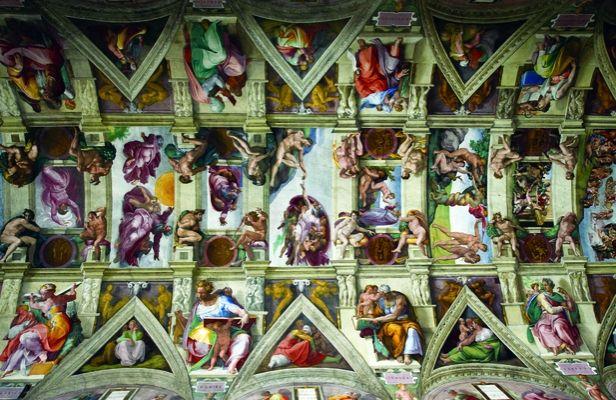 Best 25 plafond chapelle sixtine ideas on pinterest chapelle sixtine michel ange chapelle - Plafond chapelle sixtine michel ange ...