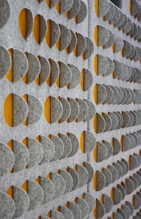 Bespoke Scale acoustic wall panels, POA, Selina Rose