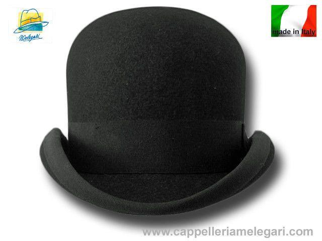 Cappello a Bombetta Bat Masterson Old Western Bowler Derby Hat