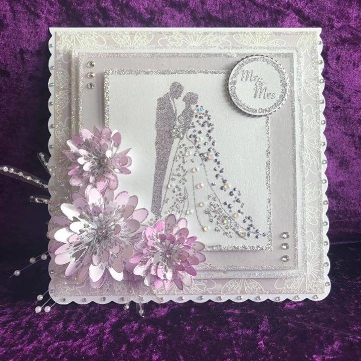 Днем, свадьба открытка скрапбукинг