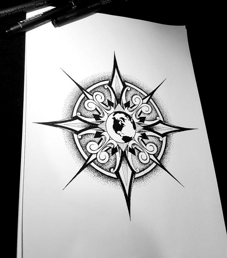 Geometric tattoo by @brolinkosta