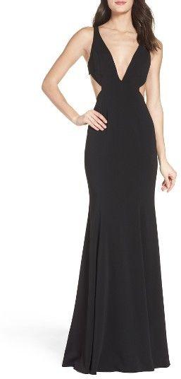 Women's Jay Godfrey Douglas Gown- Black Tie Wedding Guest Dress Idea - Prom Dress Ideas
