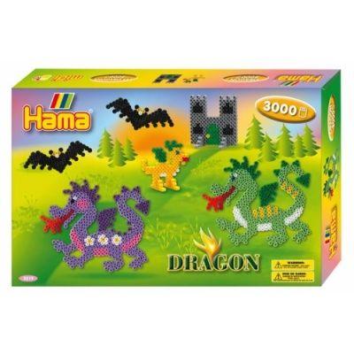 Hama Midi- Presentask med drakar
