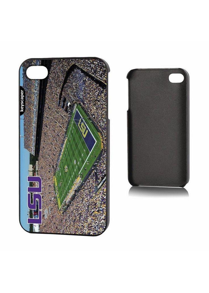 Ncaa Iphone 4 Case- Stadium Lsu Fighting Tigers