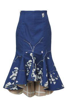 Naoki Midi Skirt by Johanna Ortiz for Preorder on Moda Operandi $1000