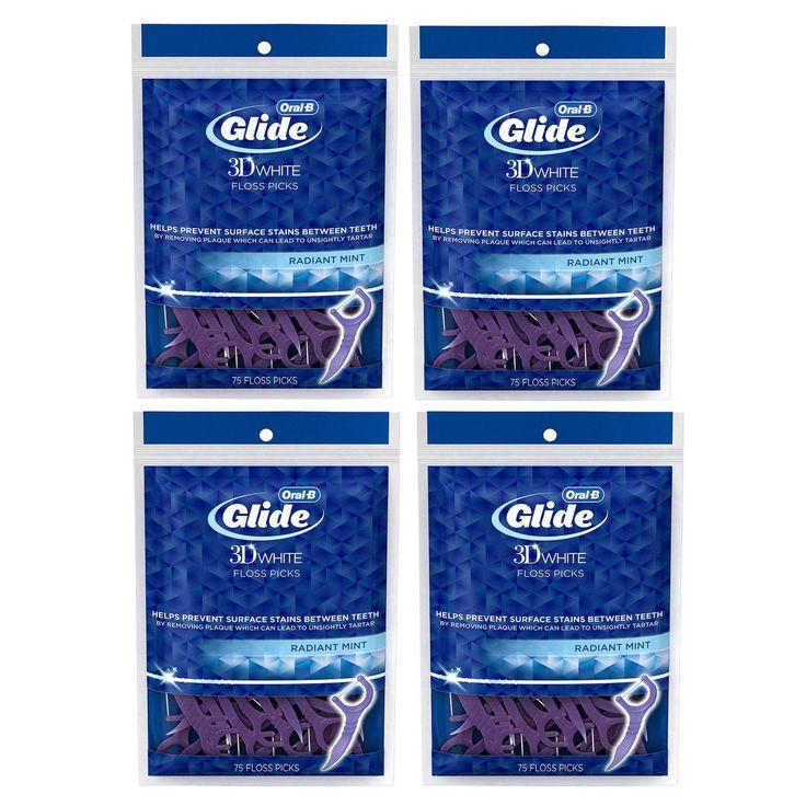 Oral-B Glide 3D Radiant Mint Flavor 75-Count Floss Picks