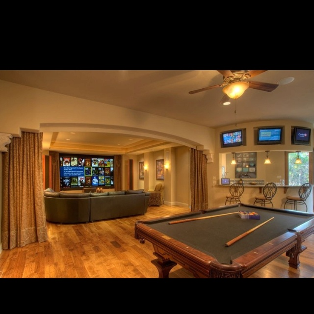 Media Room Game Room Design, Pictures, Remodel, Decor And Ideas