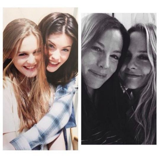 """Alicia Silverstone and Liv Tyler, who met in 1994 while co-starring in the video for """"Crazy"""" by Aerosmith, reunited over the weekend."""