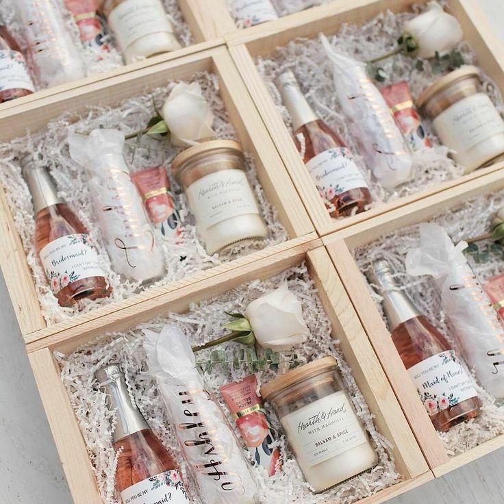Bridesmaid proposal box ideas bridesmaid proposal gift