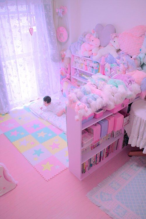 25 best ideas about kawaii room on pinterest kawaii for Cuartos decorados kawaii