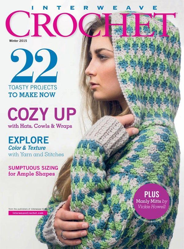 Interweave Crochet Winter 2015 focuses on color & texture in crochet | InterweaveStore.com