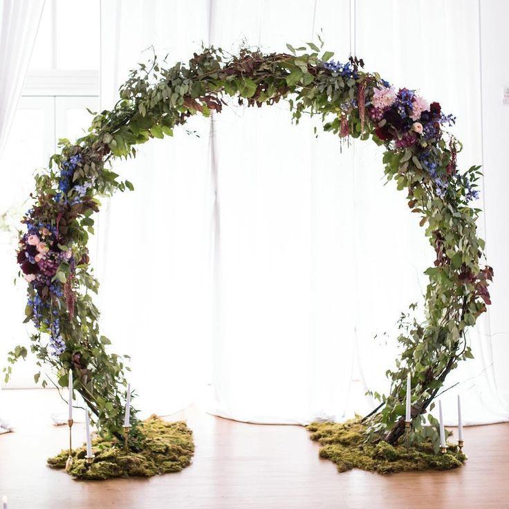 Diy Wedding Arch Ideas Circle