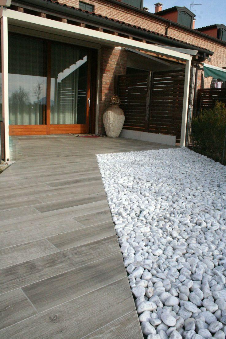 Oltre 25 fantastiche idee su pavimentazione da giardino su - Rimuovere cemento da piastrelle ...