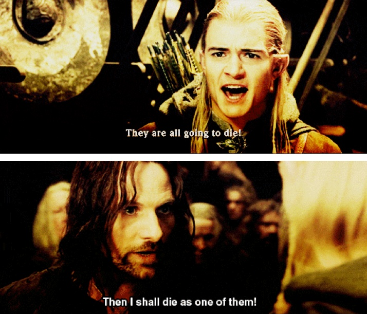Lord Of The Rings Helms Deep Speech