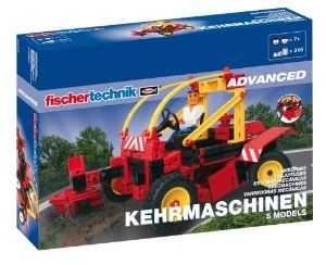 Fischertechnik Road Sweeper by Fischertechnik. Save 27 Off!. $73.05. high-quality product. 310 components. made in Germany. Construction kit for technicians. 5 models. From the Manufacturer                Crumbs on the breakfast table and scraps of paper on the floor of the kid's room - no problem for the five different sweeping machines. The operational models are equipped with up to two high quality and durable foamed plastic brushes. So even dirt on the edges of the curb and in the…