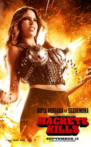 The new Machete Kills trailer features Sofia Vergara with boob guns... umm, we're definitely seeing this!