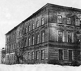 Здание епархиального общежития