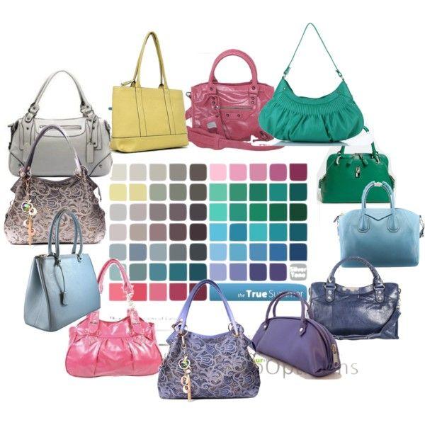 """True Cool Summer Handbags"" by littlemissymel on Polyvore"