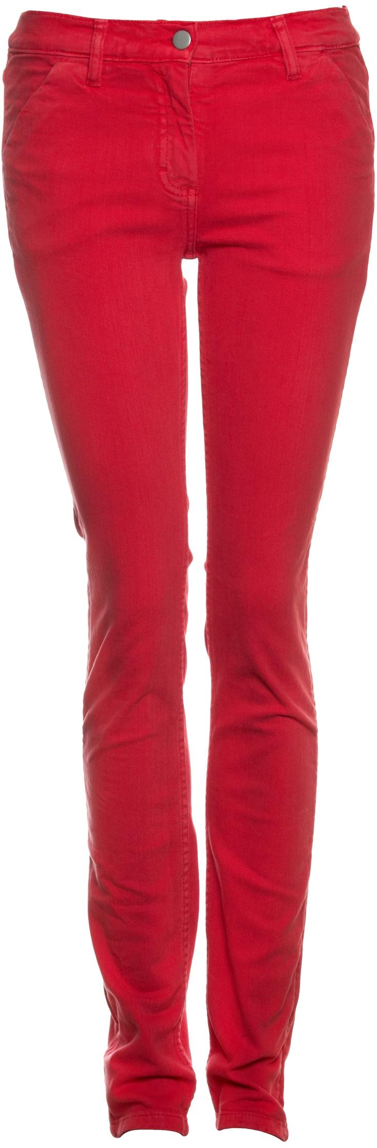 Röhrenjeans rot  von L'Herbe Rouge
