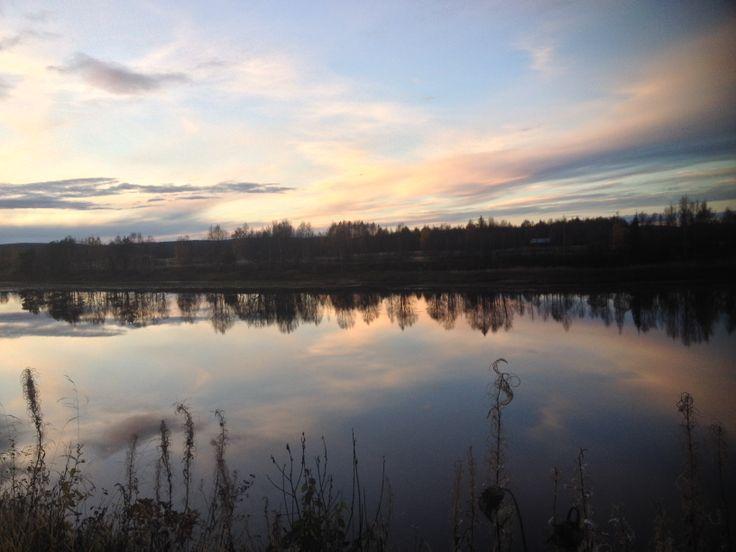 Autumn Day in Lapland