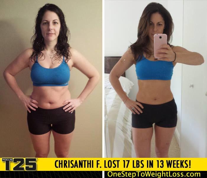 no weight loss t25