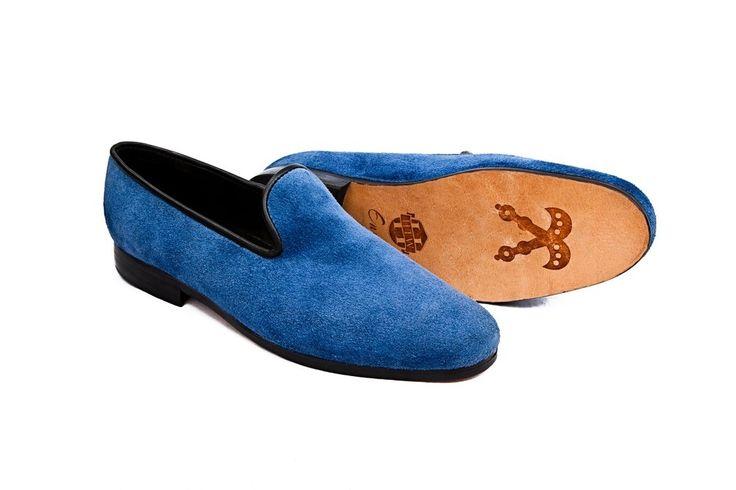 Dress slippers from Ghana