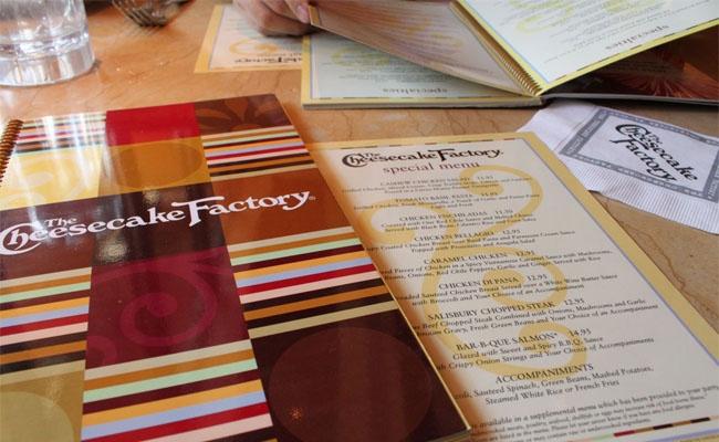 CheeseCake Factory Recipe's!