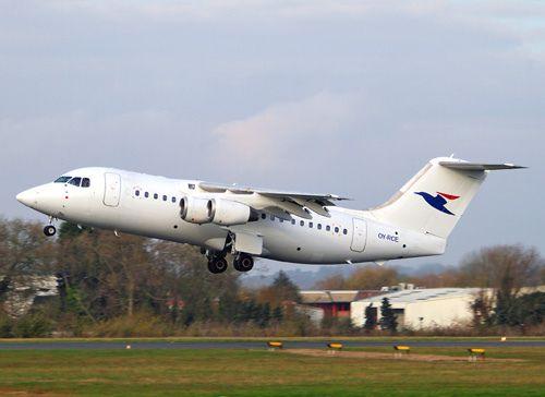 OY-RCE Bae 146 (RJ85) Atlantic Airways