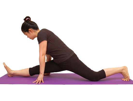 how can i learn how to do a split in two weeks??!?! i need ...