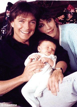 david cassidy mom and babies on pinterest