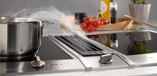 Innovatief! Koken met de Miele combiset-elementen met werkbladafzuiging