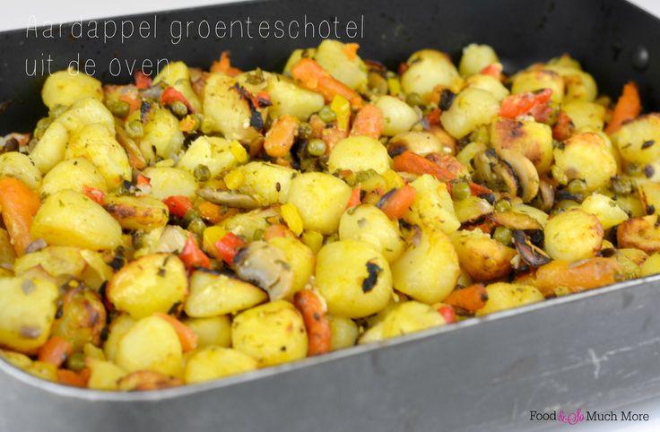Deze aardappel-groenteschotel is echt heerlijk! En het recept vind je hier.