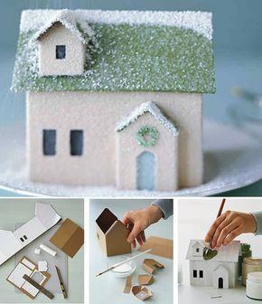 Fabrication maison en carton 39 ricolage - Fabrication maison en carton ...