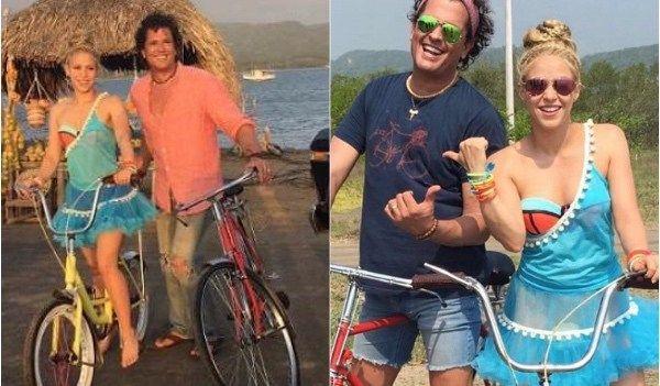 """Shakira y Carlos Vives lanzan su nueva canción """"La Bicicleta"""""""