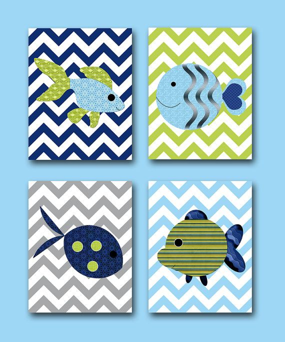 Hey, I found this really awesome Etsy listing at http://www.etsy.com/listing/130665541/sea-fish-nursery-baby-boy-nursery-art