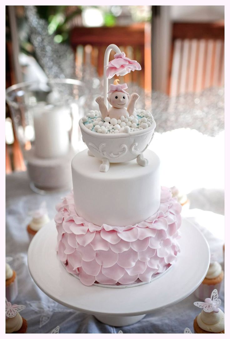 Baby in a Bath Cake