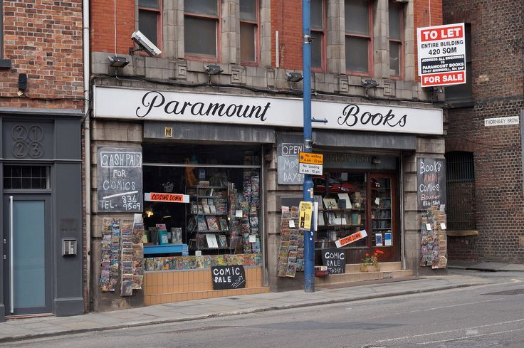 Paramount Books Manchester, UK