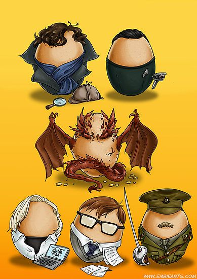Eggs Benedict (Cumberbatch) (by embiearts)