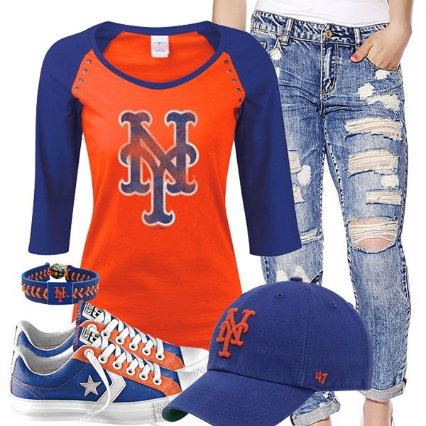 New York Mets Converse Outfit