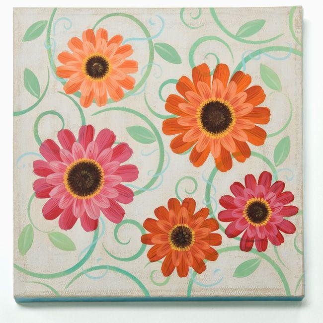 Craft Painting - Gerber Daisy Canvas
