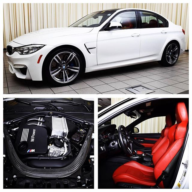 FOR SALE - 2016 BMW M3 Sedan, 444hp TwinPower turbo 3.0 liter I6, 17,018 miles, comfort access, harman/kardon audio, navigation, lighting package, moonroof, carbon fiber interior & exterior trim. • See www.Highline-Autos.com for listing details and photos. Link in bio #lajollalocals #sandiegoconnection #sdlocals - posted by Highline Autos  https://www.instagram.com/highlineautos. See more post on La Jolla at http://LaJollaLocals.com