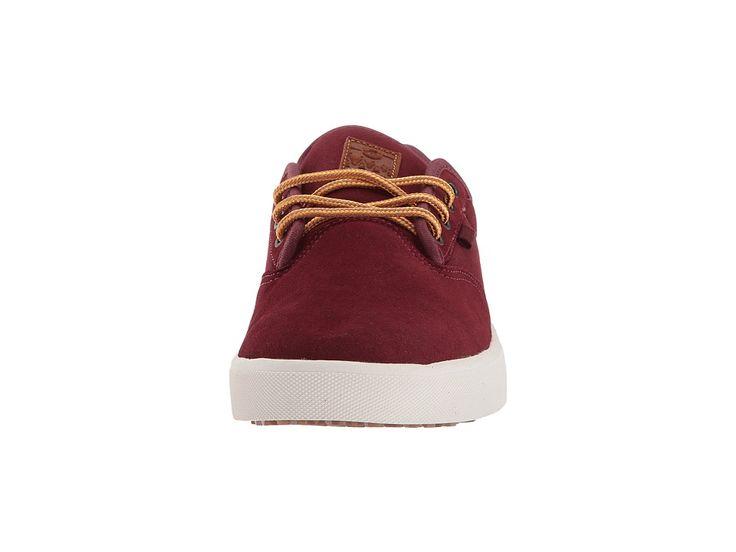 etnies Jameson SLW Men's Skate Shoes Burgundy/Gold