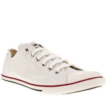 Men's White Converse Slim Ox at schuh
