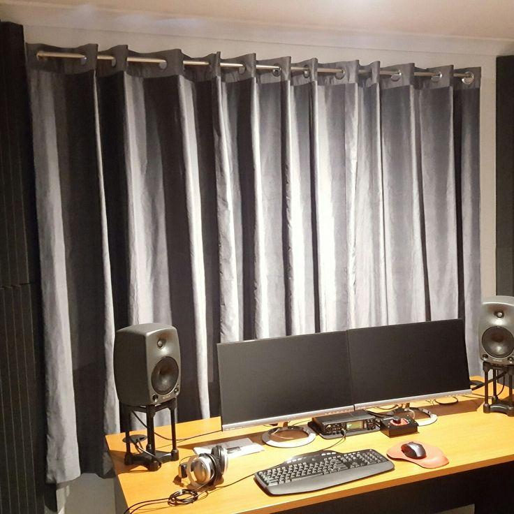 Acoustic Curtains For Studio Recording : Audio studio curtains curtain menzilperde