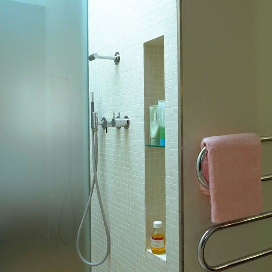 17 Best Images About Bathroom Redo On Pinterest Recessed Shelves Bathroom