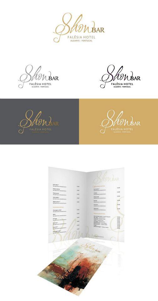 Proposta de Logo e Menu de Bar