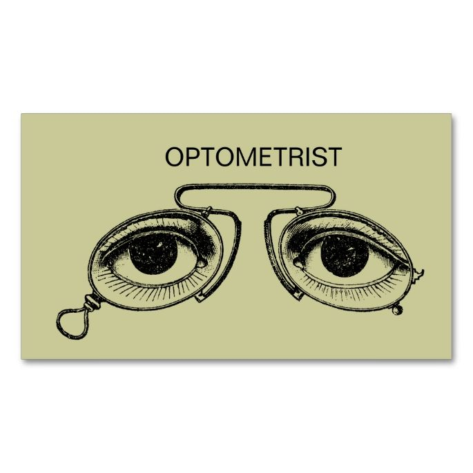 2132 best Eye Doctor Business Cards images on Pinterest - business card template for doctors